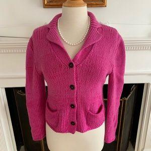 IRIS von ARNIM gorgeous cashmere cardigan sweater